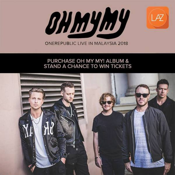 Oh My My OneRepublic Live in Malaysia