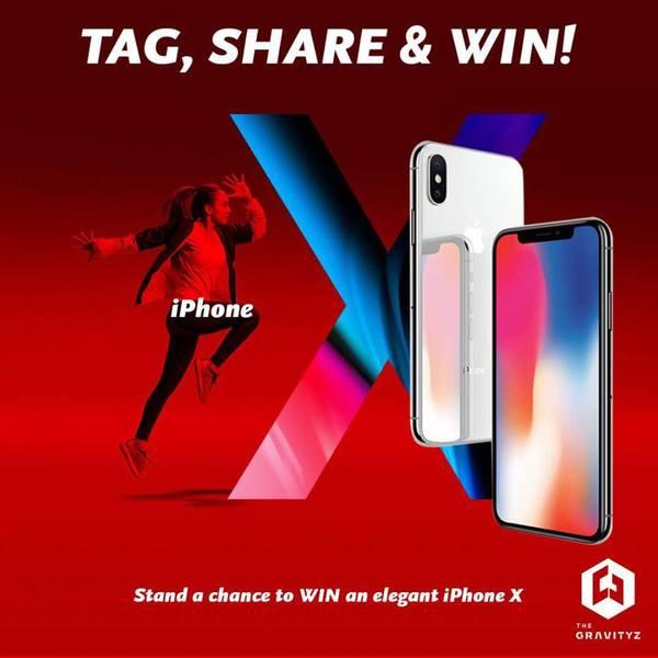 The Gravityz: Win Iphone X Now!