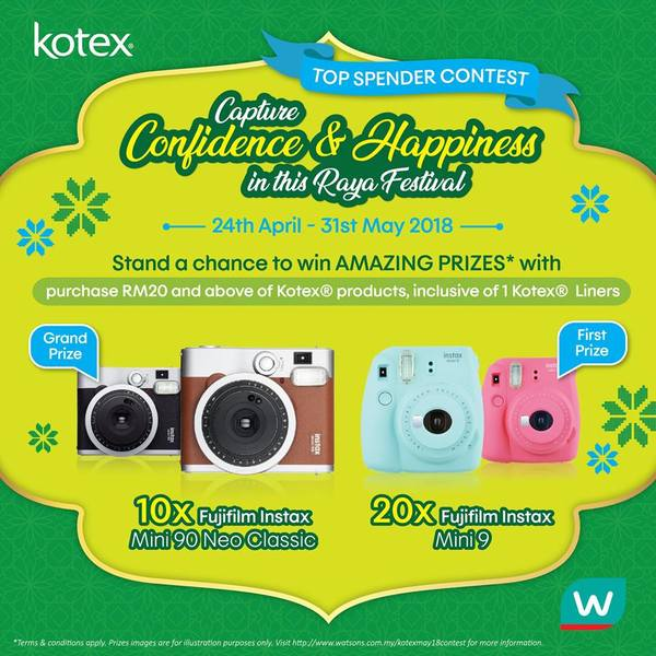 Kotex Capture Confidence and Happiness In This Raya Festival