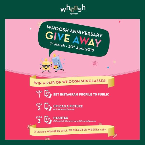 WHOOST ANNIVERSARY GIVEAWAY