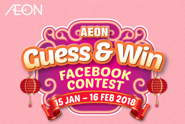AEON Guess and Win Contest - Episode 4