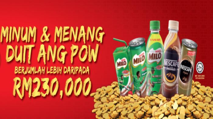 Nestle WOW WOW ANG POW