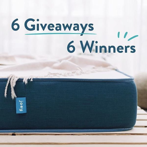 joeymattress-6-giveaways-6-winners