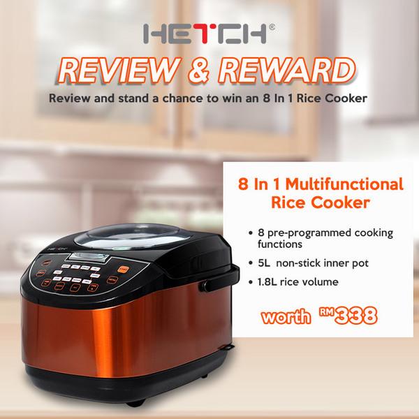 hetch-8-in-1-multipurpose-rice-cooker-giveaway