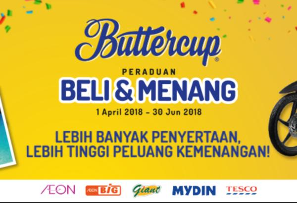 Buttercup Malaysia - Peraduan Beli & Menang