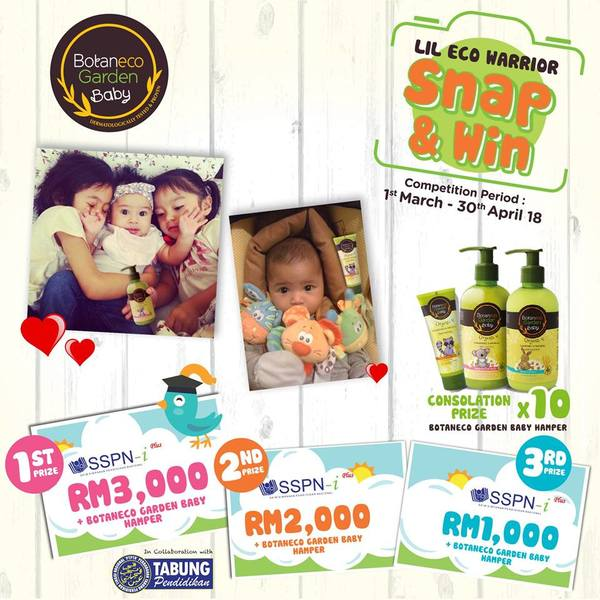 Botaneco Garden Baby Snap and Win Contest