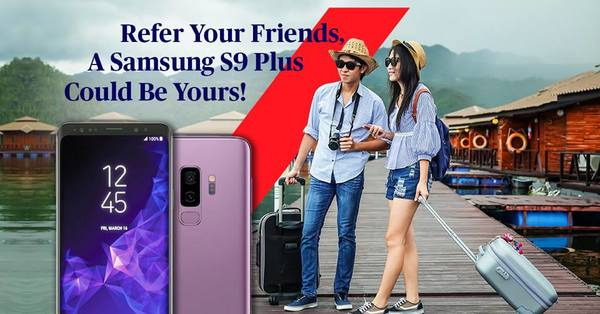 Refer and A Samsung Galaxy S9 Plus Could Be Yours!