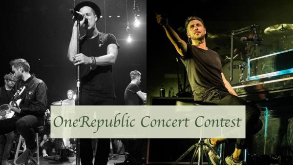 Hype OneRepublic Concert Contest