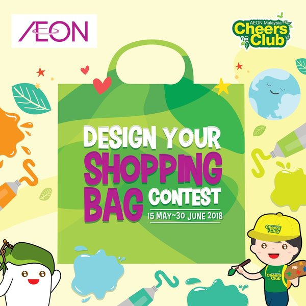 AEON Malaysia Cheers Club Design Your Shopping Bag Contest