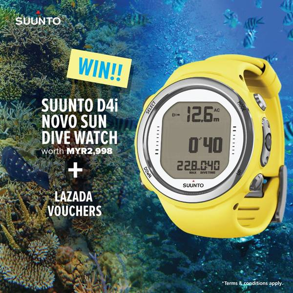 Win Suunto D4i Novo Sun Dive Watch